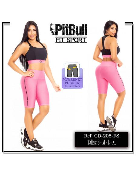 conjunto deportivo pitbull rosa cd205