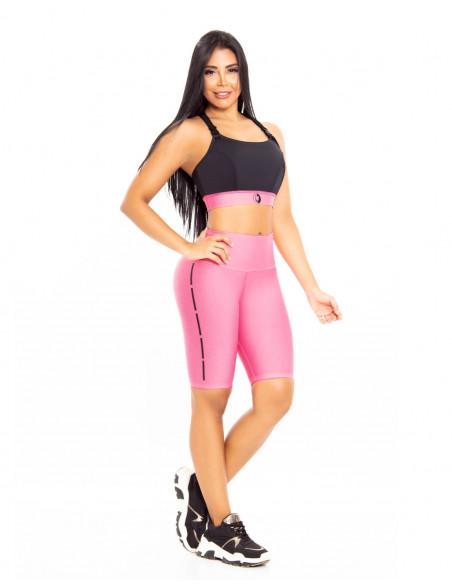 conjunto deportivo pitbull rosa delantera cd205